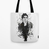 sketch Tote Bags featuring Sketch by Stefano Messina