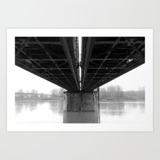 Rail / Ways Art Print