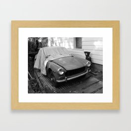 Antique car Framed Art Print