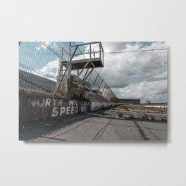North Wilksboro Speedway Metal Print
