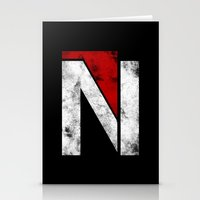 n7 Stationery Cards featuring N7 new logo by BomDesignz