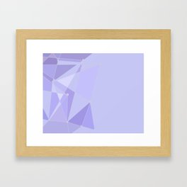 Tomorrowland Purple Wall Framed Art Print