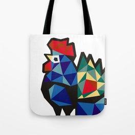 Polish Folk Rooster Tote Bag