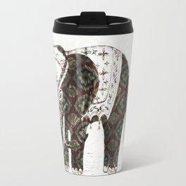 Festive Elephant love Travel Mug