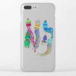 Cool Jellyfish 2 Clear iPhone Case