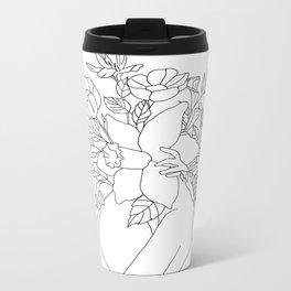 Blossom Hug Metal Travel Mug