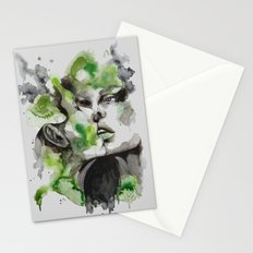 Kiss by carographic Stationery Cards