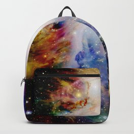 GaLaXY : Orion Nebula Dark & Colorful Backpack