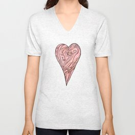 Heart, love, Valentine's Day Unisex V-Neck