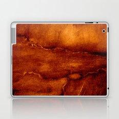 brown wall Laptop & iPad Skin