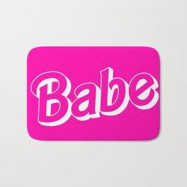 Babe Doll Look Bath Mat