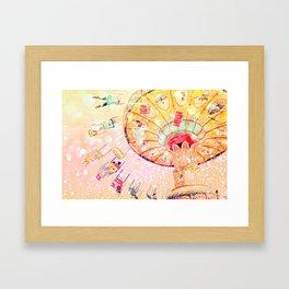 Joy Ride... Framed Art Print
