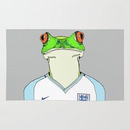 Football Frog Rug