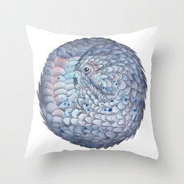 Pangolin Throw Pillow