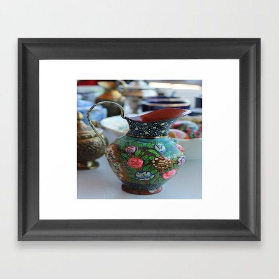 Vase Framed Art Print