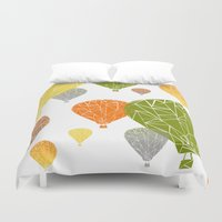 balloons Duvet Covers featuring BALLOONS by ARCHIGRAF
