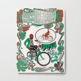 Motobécane - Vintage French Cycling Poster Metal Print