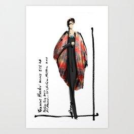 Frances Harder Art Print