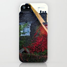 Stone Cottage iPhone Case