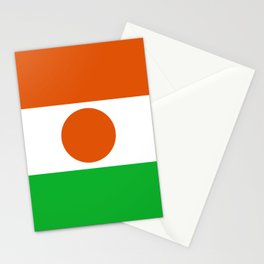 Flag: Niger Stationery Cards