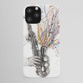 The Jazz Saxophone iPhone Case