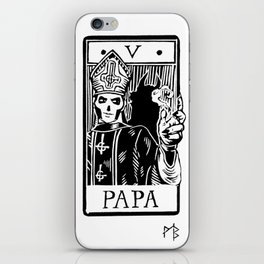 Arcane V - Papa Emeritus III iPhone Skin