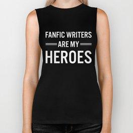 Fanfic Writers Are My Heros 2 Biker Tank