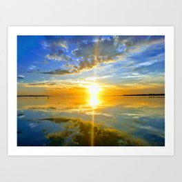 Outer Banks Sunset Art Print