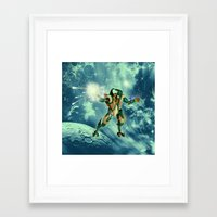 robot Framed Art Prints featuring Robot  by nicky2342