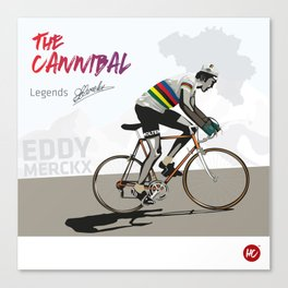 The Cannibal Canvas Print