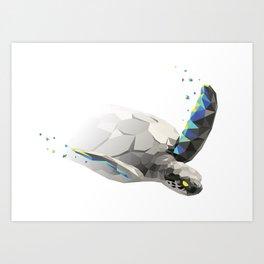 Geosafari | Turtle Art Print