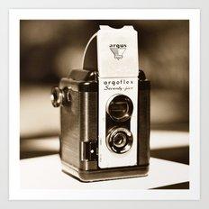 Argus Camera Art Print