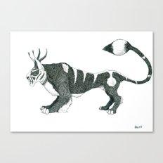 Tigre Cornu Canvas Print
