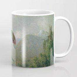 Orchid And Hummingbird Near A Mountain Waterfall 1902 By Martin Johnson Heade | Reproduction Coffee Mug