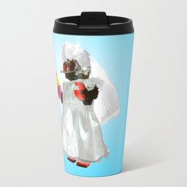 Bridebot Blue Travel Mug