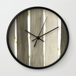 The Wide Woods Wall Clock