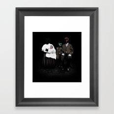 Veridis Quo Framed Art Print