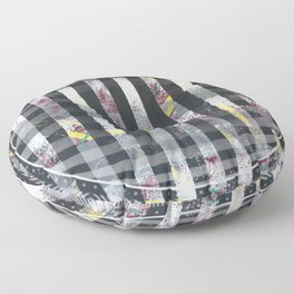 Polarized - 3D graphic Floor Pillow