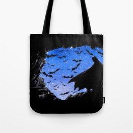 Batmaninthe Batcave Tote Bag