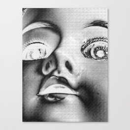 Dolly in the Attic V Canvas Print