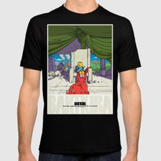 Bartkira / Neo-Springfield Poster  MEDIUM Black Mens Fitted Tee