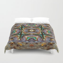 Shipwreck Of Time Duvet Cover