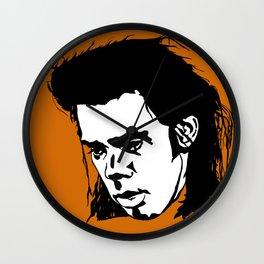 Sad Nick Cave Wall Clock