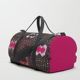 Aboriginal pattern in pink Duffle Bag