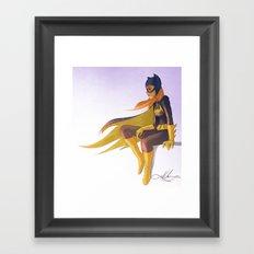 batgirl Framed Art Print