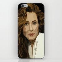 battlestar iPhone & iPod Skins featuring Red Haired Beauty by Grace Teaney Art