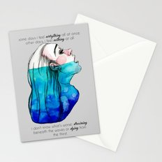 Drowning in Depression (2016) REVAMP Stationery Cards