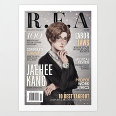[RFA Cover] Jaehee Kang Art Print