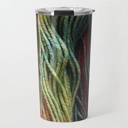 Autumnal Variegated Yarn Travel Mug