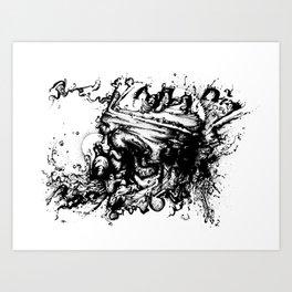spread thin Art Print